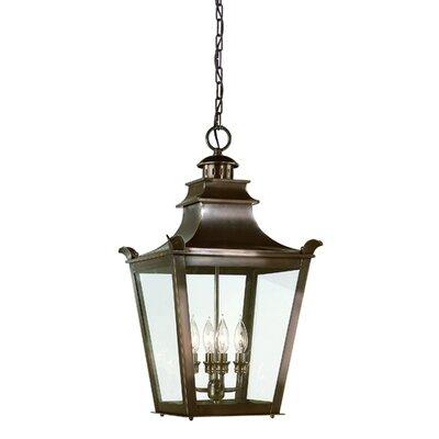Troy Lighting Dorchester 4 Light Outdoor Hanging Lantern