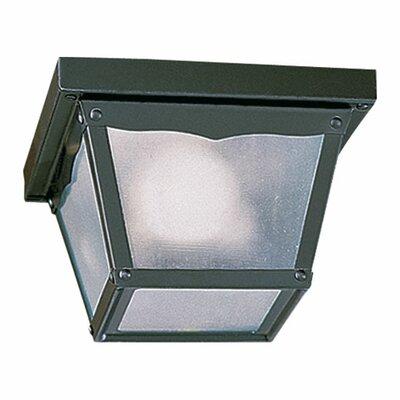 Quorum Cage 2 Light Flush Mount