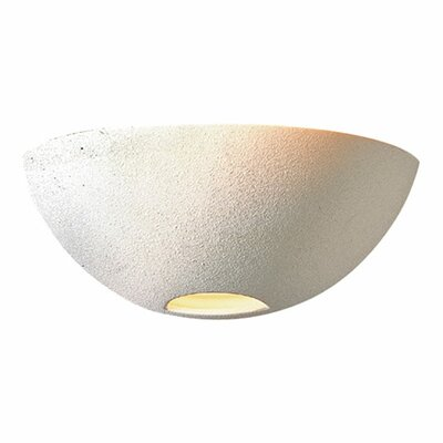 Quorum Ceramic 1 Light Wall Sconce