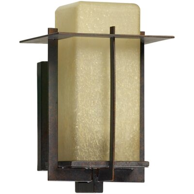Quorum McKee 1 Light Outdoor Sconce