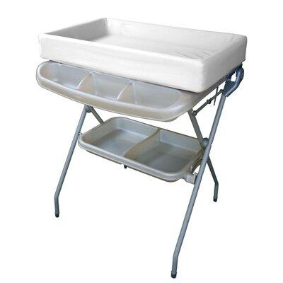 Posh Baby Bathtub and Changer Combo Color: Pearl
