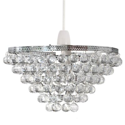 Aimbry 1 Light Crystal Pendant
