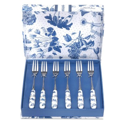 Portmeirion Botanic Blue White and Blue Dessert Fork