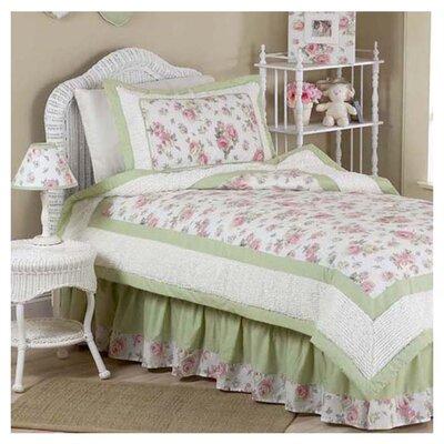 Sweet Jojo Designs Riley's Roses 4 Piece Comforter Set