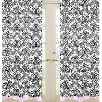 Sweet Jojo Designs Sophia Cotton Curtain Panels