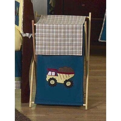 Sweet Jojo Designs Construction Laundry Hamper