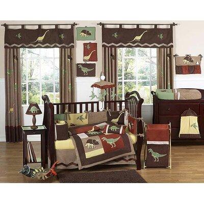 Sweet Jojo Designs Dinosaur Land 9 Piece Crib Bedding Set