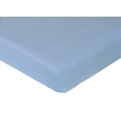 Sweet Jojo Designs Nautical Nights Solid Fitted Crib Sheet