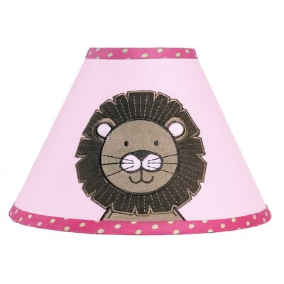 "Sweet Jojo Designs 7"" Jungle Friends Cotton Empire Lamp Shade"
