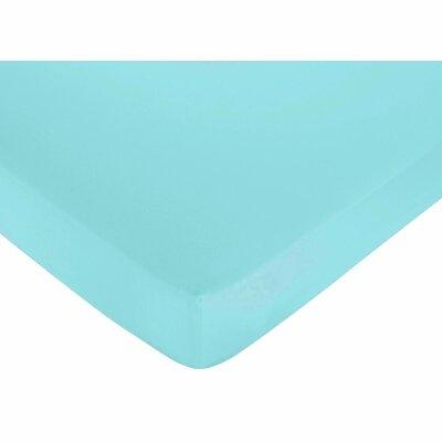 Sweet Jojo Designs Layla Solid Fitted Crib Sheet
