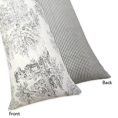 Sweet Jojo Designs French Toile Body Pillowcase