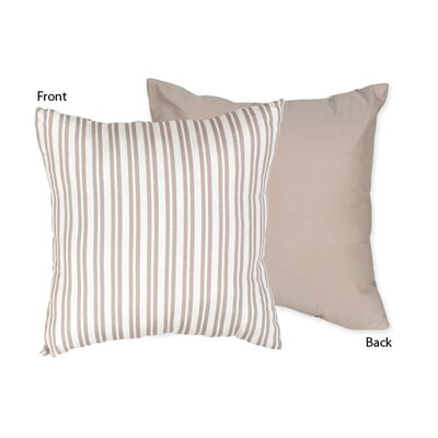 Sweet Jojo Designs Little Lamb Cotton Throw Pillow