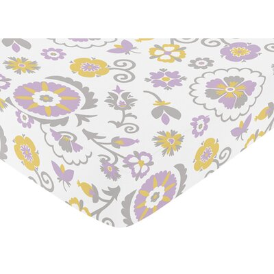 Sweet Jojo Designs Suzanna Fitted Crib Sheet