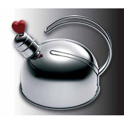 Frabosk S.P.A. 1,5 L Wasserkessel Love aus Edelstahl
