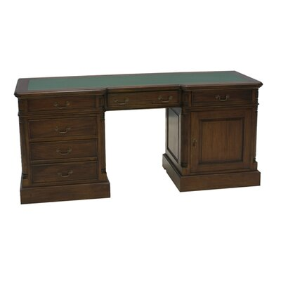 Baumhaus La Roque Executive Desk with Keyboard Tray