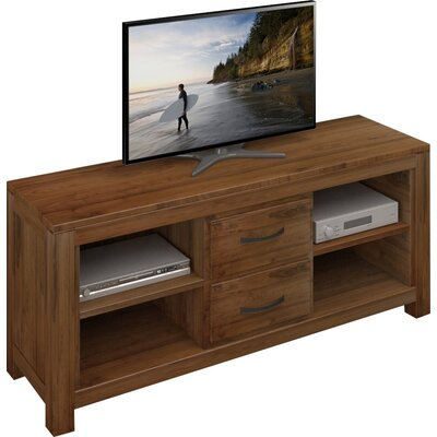 Baumhaus Mayan Walnut TV Stand for TVs up to 72""