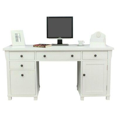 Baumhaus Hampton Computer Desk with Keyboard Tray