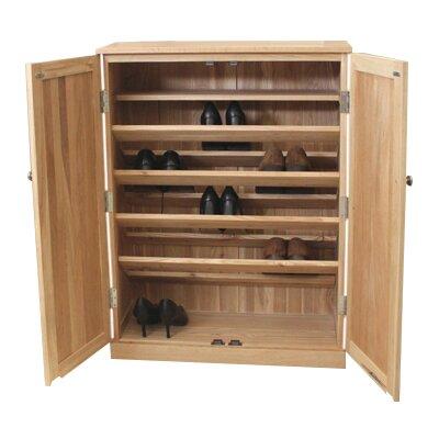 Baumhaus Shoe Cabinet in Oak