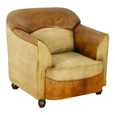 Baumhaus Roadie Chic Leather Lounge Chair