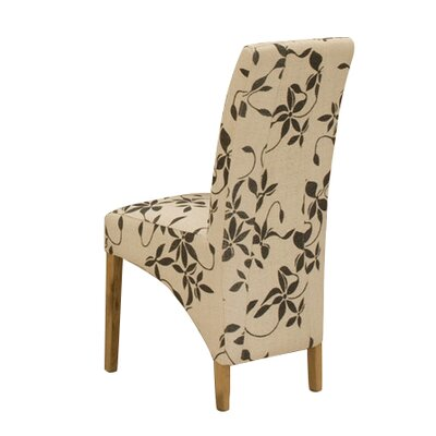 Baumhaus Solid Oak Upholstered Dining Chair