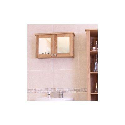 Baumhaus 63cm x 38cm Surface Mount Flat Mirror Cabinet