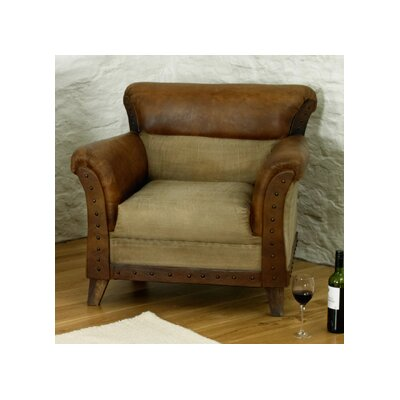Baumhaus Roadie Chic Leather Armchair