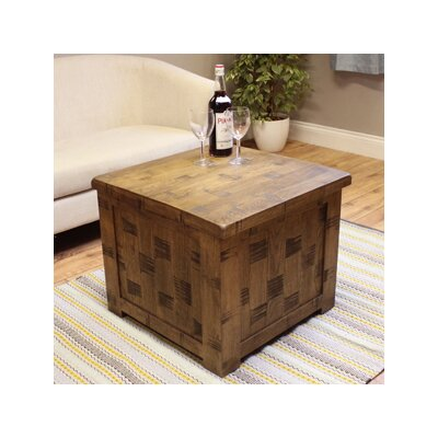 Baumhaus Heyford Rough Sawn Coffee Table with Lift Top