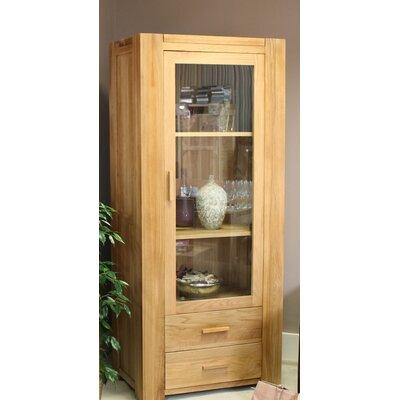 Baumhaus Atlas Solid Oak Display Cabinet