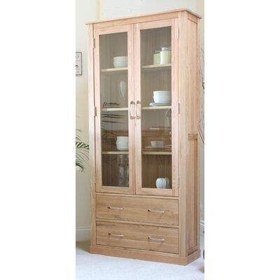 Baumhaus Solid Oak Display Cabinet