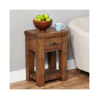 Baumhaus Heyford Rough Sawn Side Table