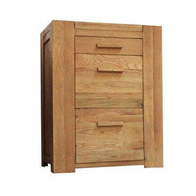 Baumhaus Atlas 3-Drawer Vertical Filing Cabinet