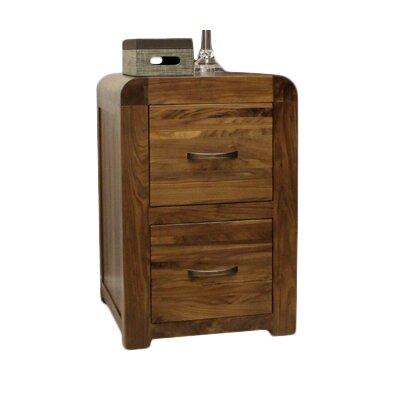 Baumhaus Shiro 2-Drawer Vertical Filing Cabinet