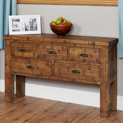Baumhaus Heyford Rough Sawn Console Table