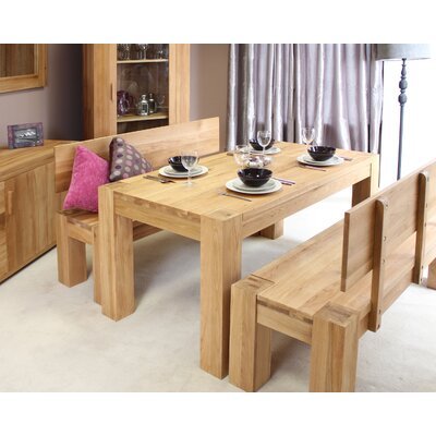 Baumhaus Atlas Dining Table in 90 cm W × 153 cm L