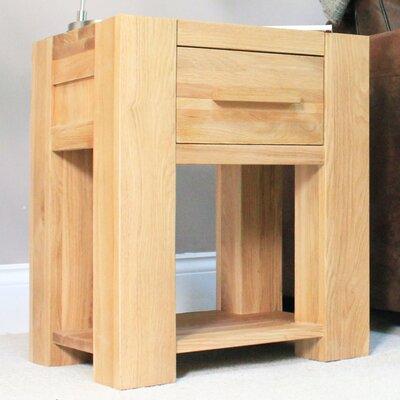 Baumhaus Atlas 1 Drawer Bedside Table