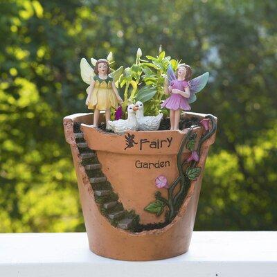 Fairy Garden Broken Planter