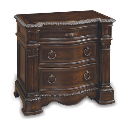 A.R.T. Capri 3 Drawer Nightstand