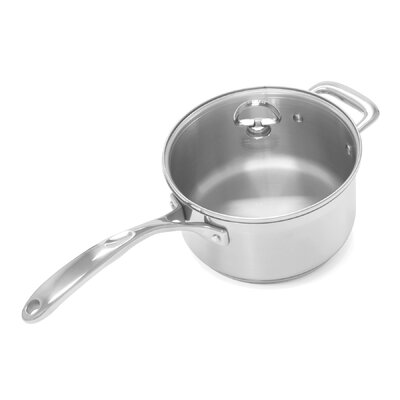 Induction 21 Steel 3.5-Qt. Saucepan with Lid