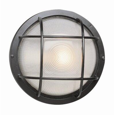 TransGlobe Lighting 1 Light Outdoor Bulkhead Light