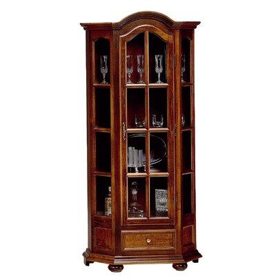 Albero Möbel Standvitrine Classico aus Massivholz