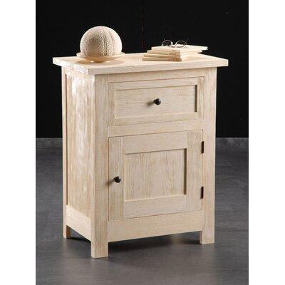 Albero Möbel Nachttisch Prien mit Schublade