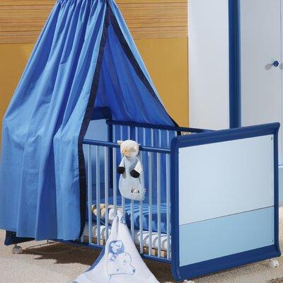 Taube Jugendmöbel 2-in-1 Umwandelbares Babybett Rosalie