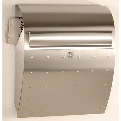Heibi Briefkasten mit Zeitungsfach und Personalisierung