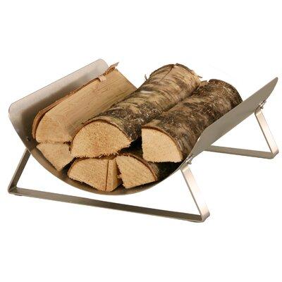 Heibi Holzregal aus Edelstahl