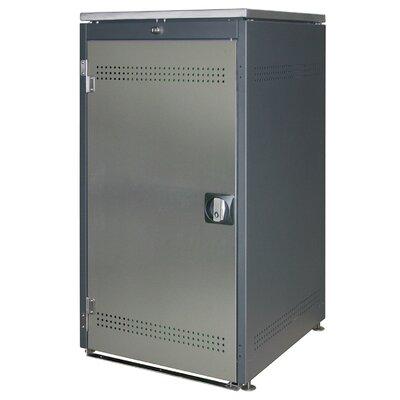 Heibi 111 x 60 cm Mülltonnenbox aus Metall