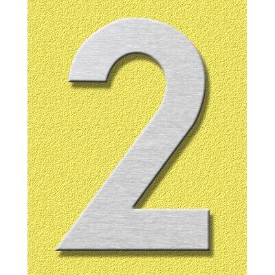 """Heibi Hausnummer """"2"""""""