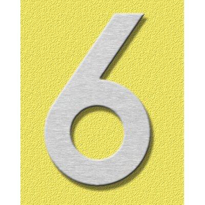 """Heibi Hausnummer """"6"""""""