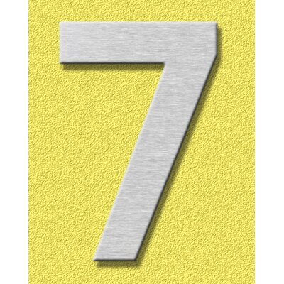 """Heibi Hausnummer """"7"""""""