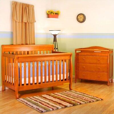 Jaden 4-in-1 Convertible 2 Piece Crib Set