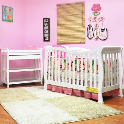 Salmeron Convertible 2 Piece Crib Set